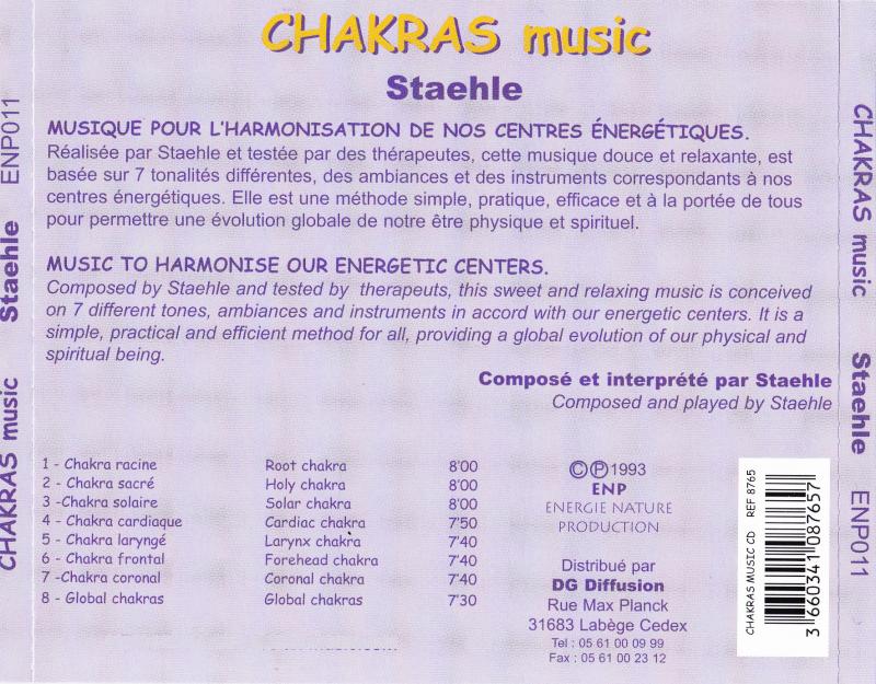 CD chakras music
